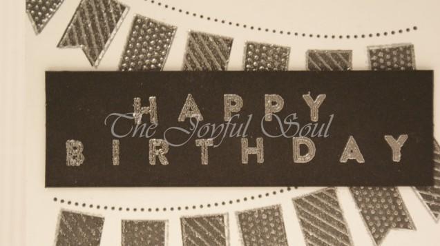 Black Birthday Banner 2